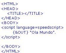 Exemplo WebSpeed